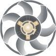 Ventilador/Ventoinha de Radiador